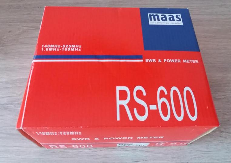 ( VENDUE )SWR & POWER METER - MAAS RS 600 , NEUF !! Maas_11