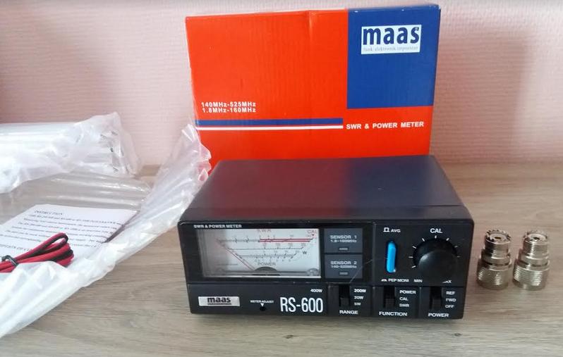 ( VENDUE )SWR & POWER METER - MAAS RS 600 , NEUF !! Maas_14