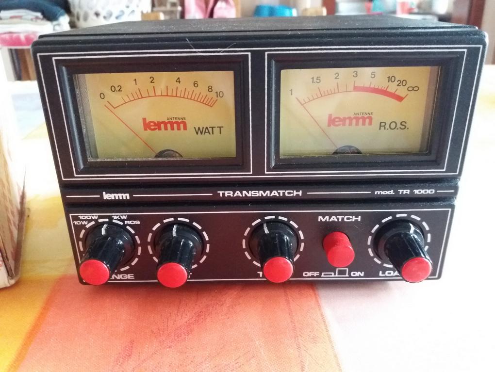 tos-metre , watt-metre , matcher 26-28 mhz , lemm tr1000  Ros_11