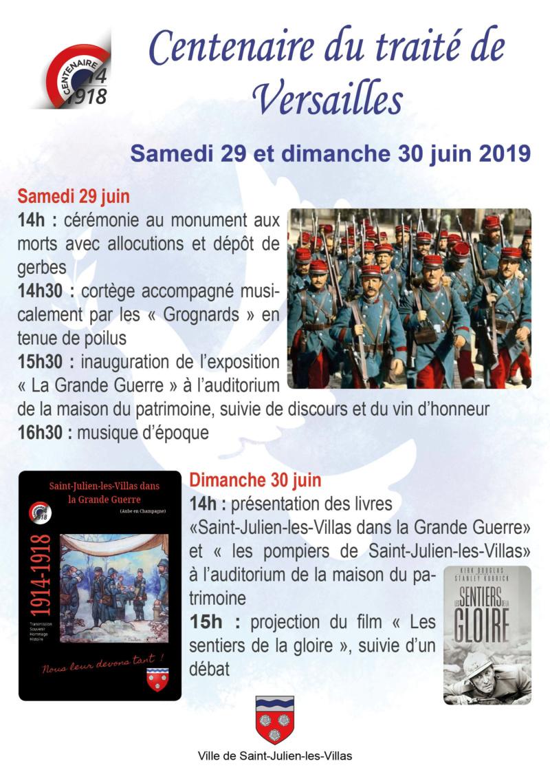 Le 29 et 30 juin 2019 à Saint Julien les Villas. Flyer12