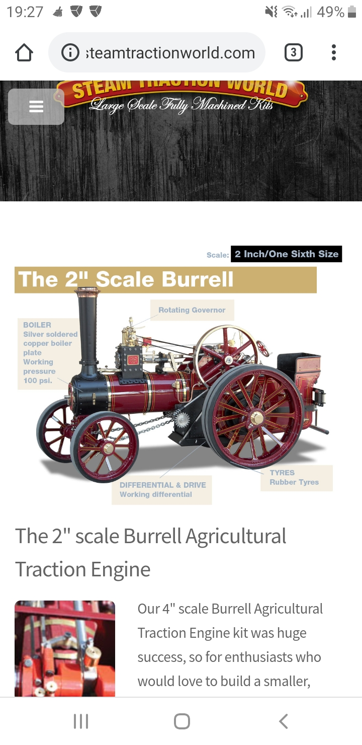 """4"""" agricutal traction engine  Screen12"""