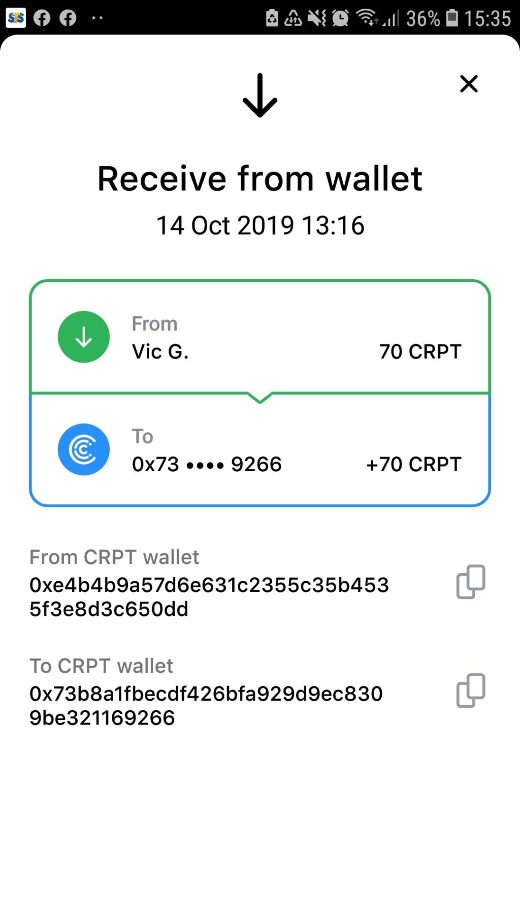 Crypterium 5 USD za darmo - Page 2 Screen36