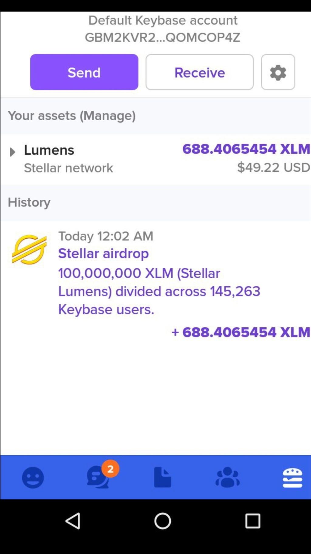 keybase.io ~20$ 15 października Screen54
