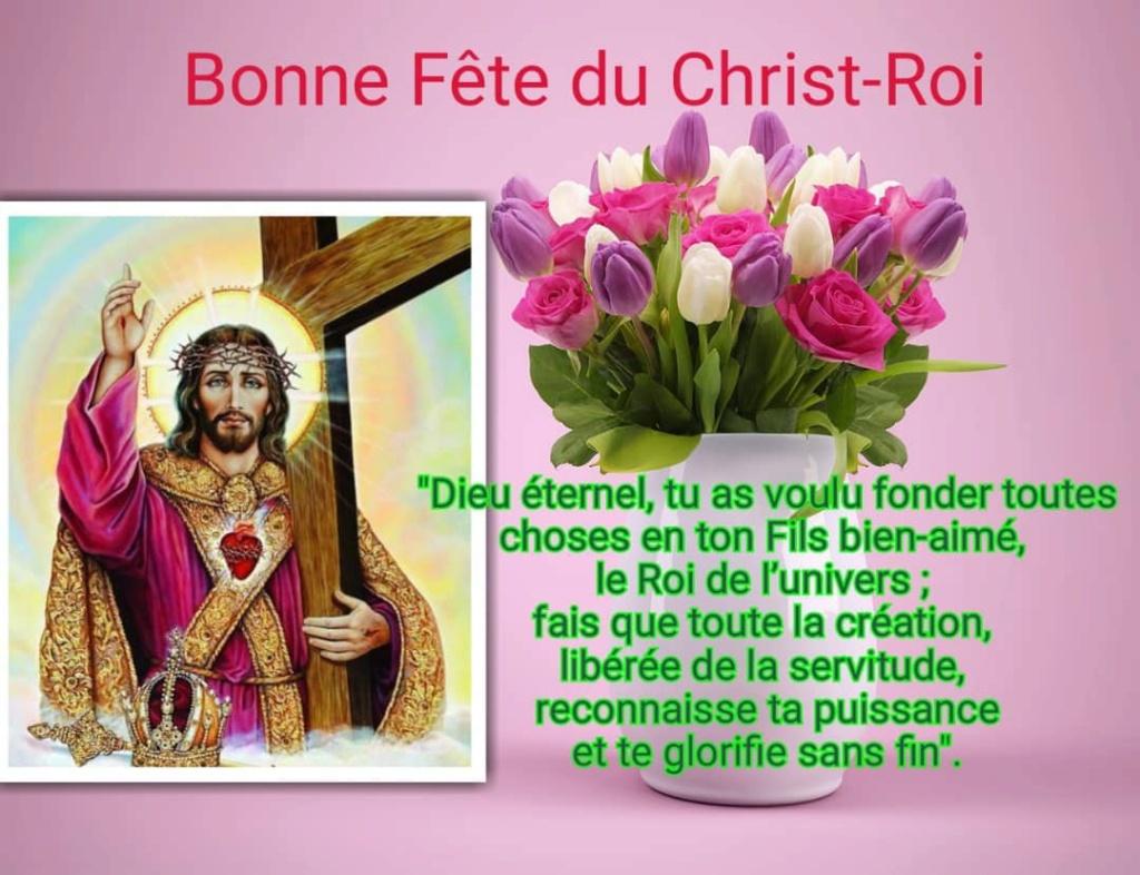 Bonne fête de Jésus-Christ, Roi de l'univers  5b814c10