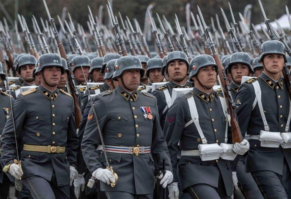 98K du Ehrenbatallion de la Bundeswehr Chili10