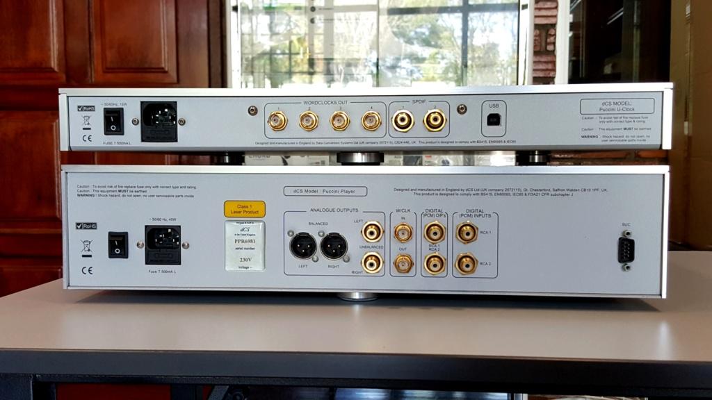 dCS Puccini SACD/CD Player + U-Clock (Used) 20190913