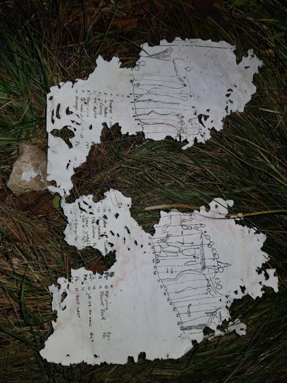 Ritrovamento in falesia Monte Lefre della guida di Jackey e AleVlagn (FuoriVia anno 2011) 20191114