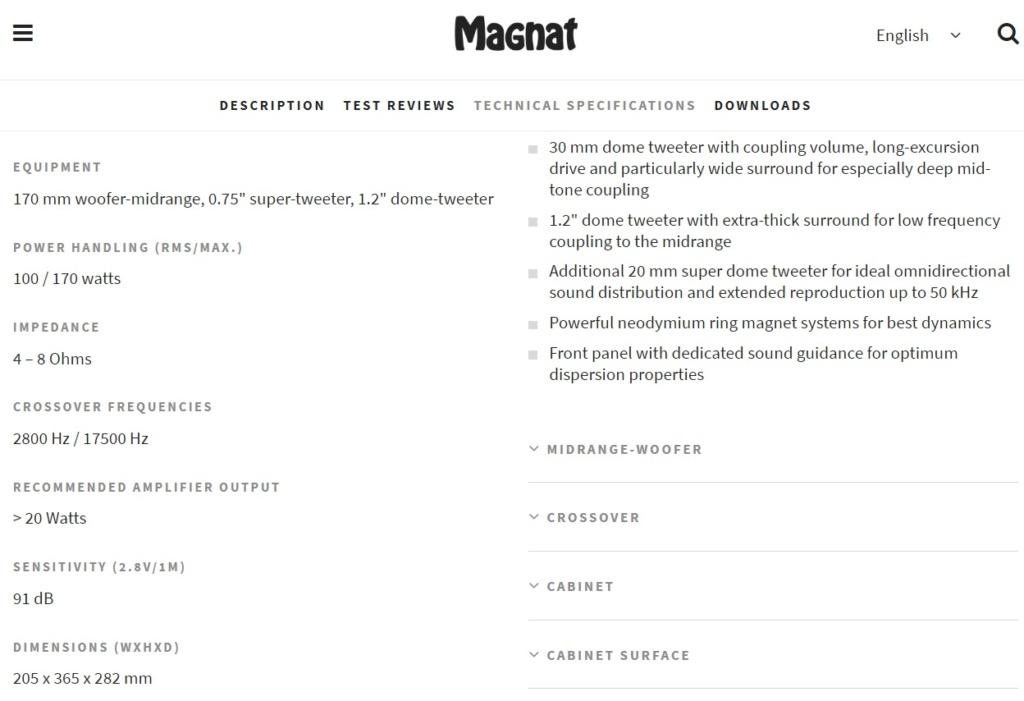 diffusori anomali Magnat14