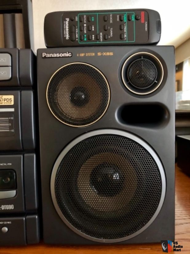 Recupero diffusori  Panasonic RX-DT690 Panaso10