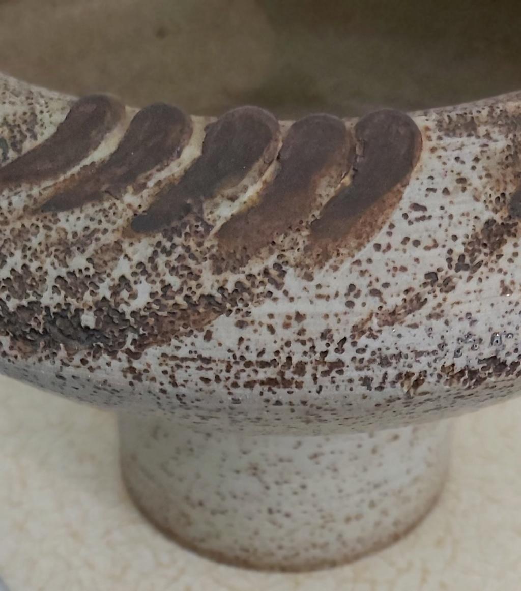 Studio Pottery Type Piece Marked VM 20200111