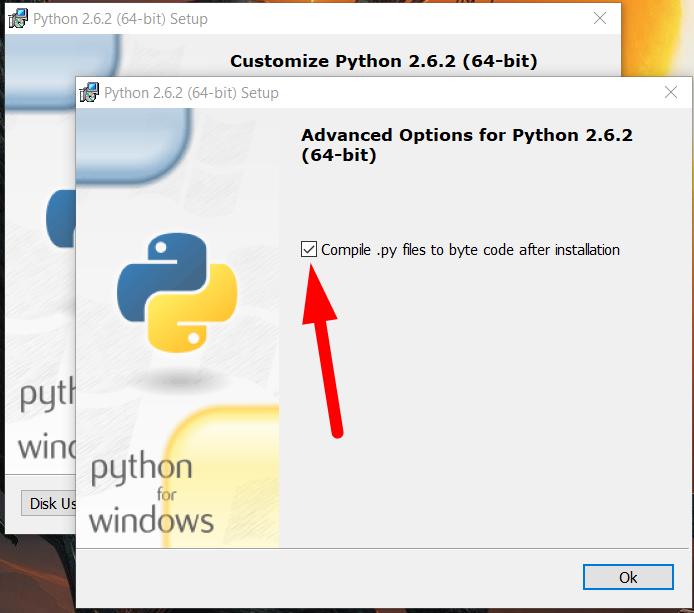 Instalación de Python en Windows 10 / 7 Screen12