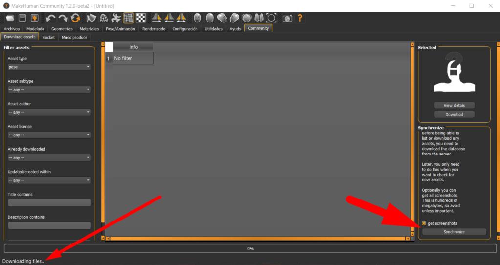 MAKEHUMAN - Programa libre para crear modelos de personajes en 3d Screen13