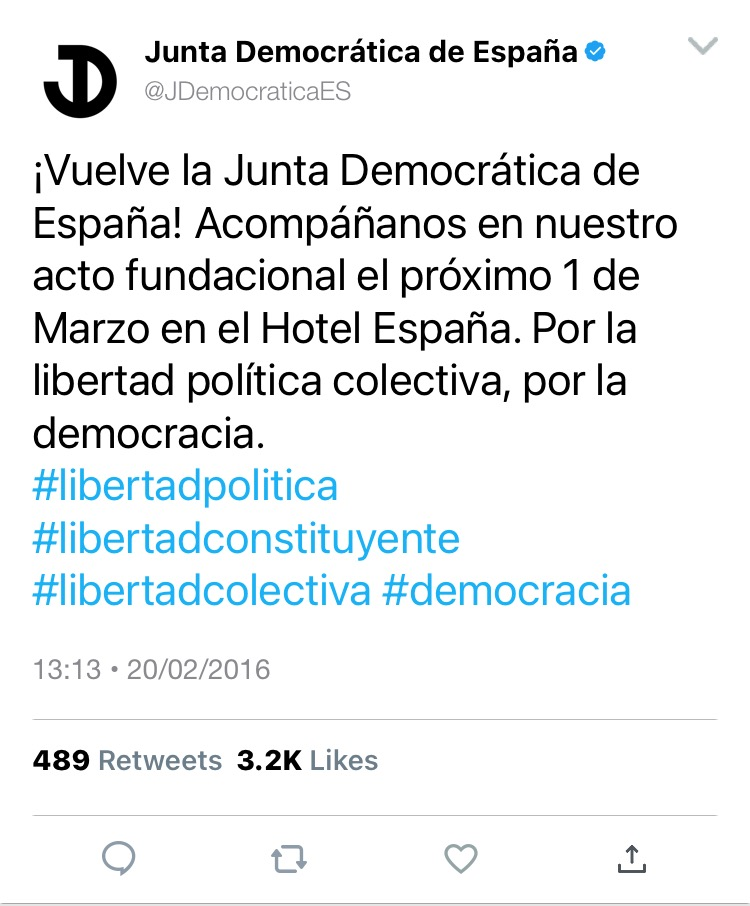 @JDemocraticaES | Twitter 3b287b10