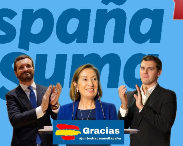 [EFE] 7 de Enero de 2018 - España Suma gana las elecciones seguido muy de cerca por España en Común 616af910