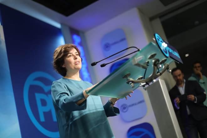 """[PP] Sáenz de Santamaría: """"Es el momento para la unidad"""" Bf5a9510"""