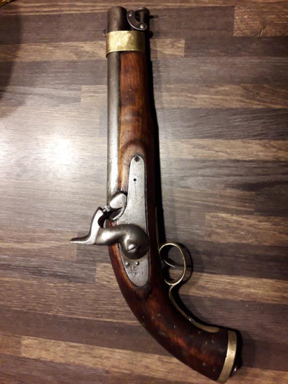 Pistolet anglais pour l'armée des Indes 16131512