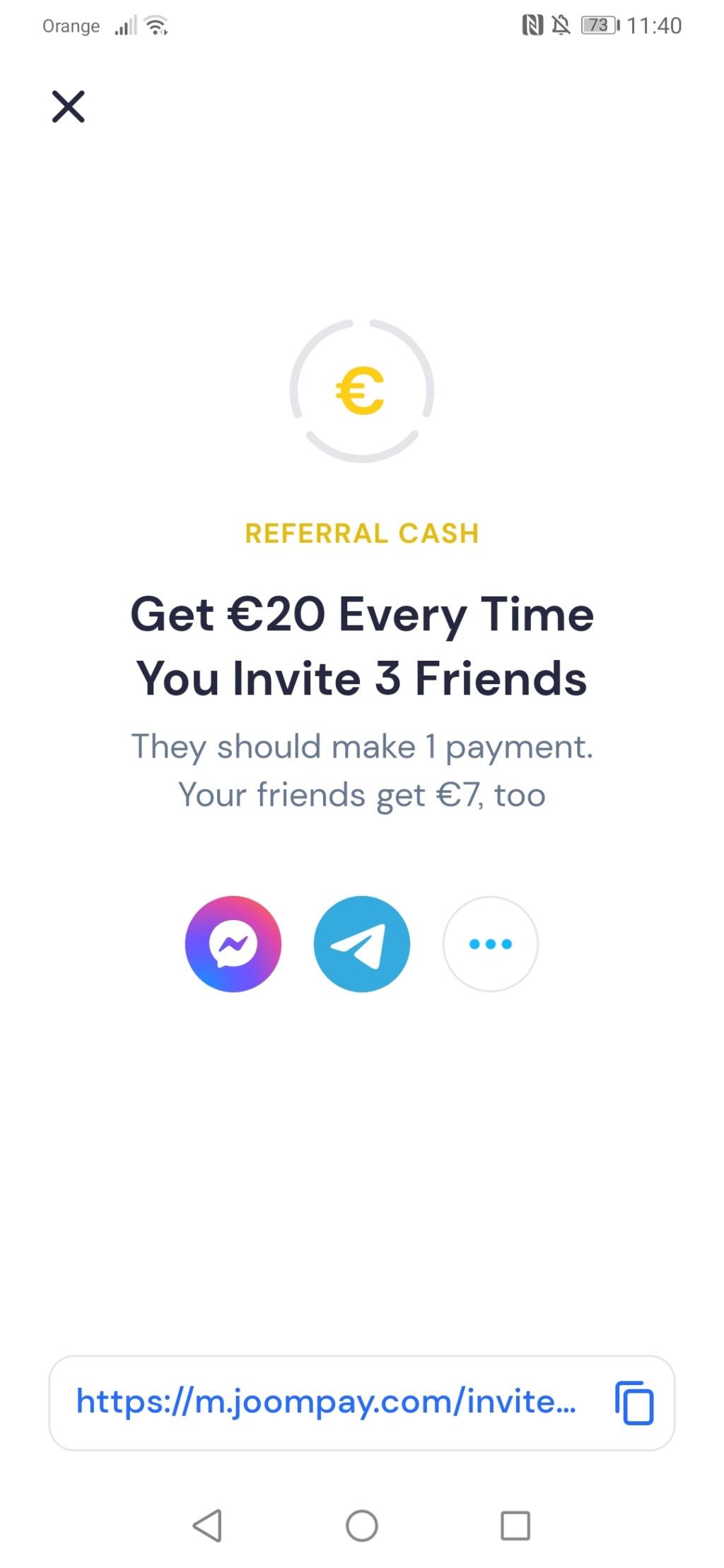 7 euro za depozyt 5euro joompay Screen18