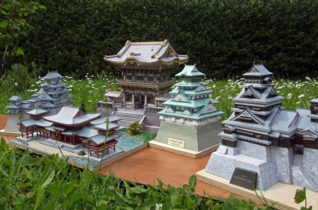 Japanische Architektur aus dem Canon Creative Park Toshog12