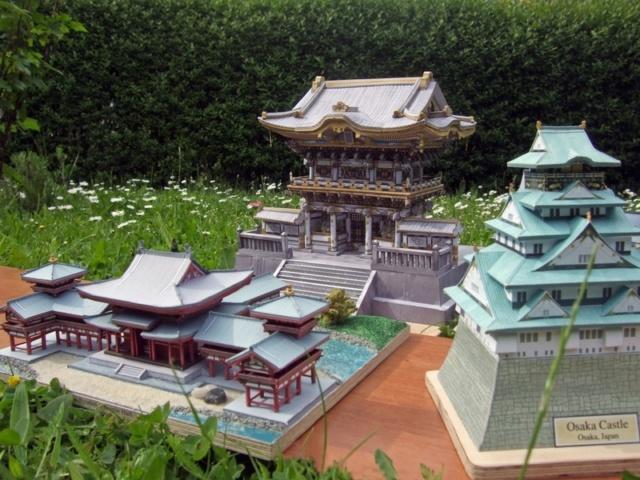 Japanische Architektur aus dem Canon Creative Park Toshog15