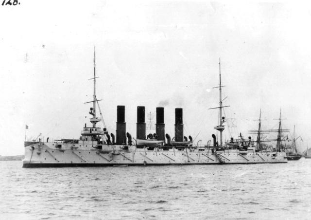 "Geschützter Kreuzer 1. Ranges ""Varyag"" (1901) / Oriel, 1:200 Varyag11"