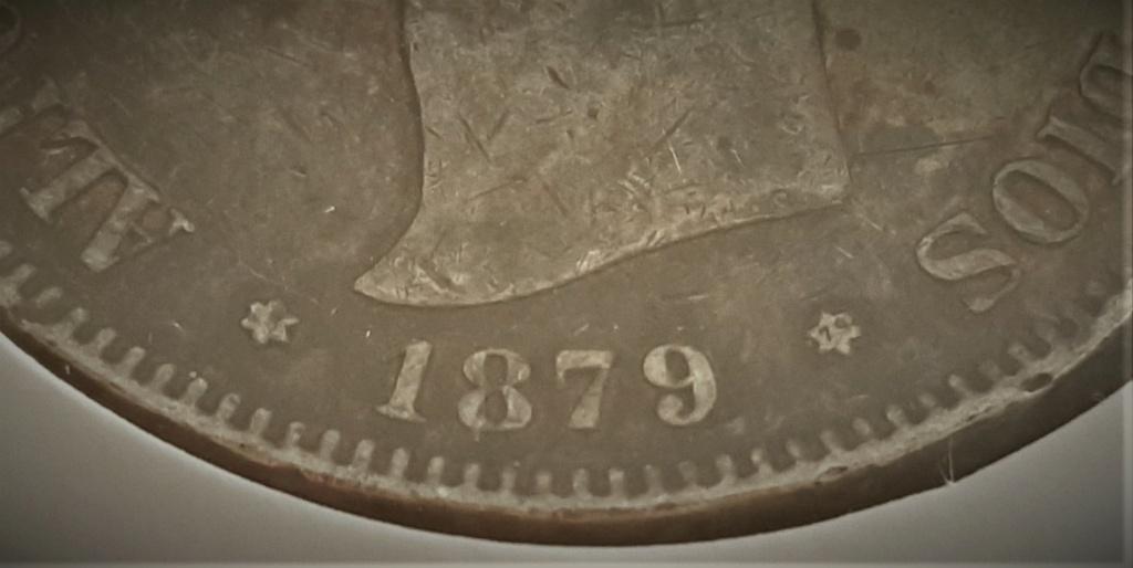 5 pesetas Alfonso XII 1879 *18-*79 EMM 2020-915