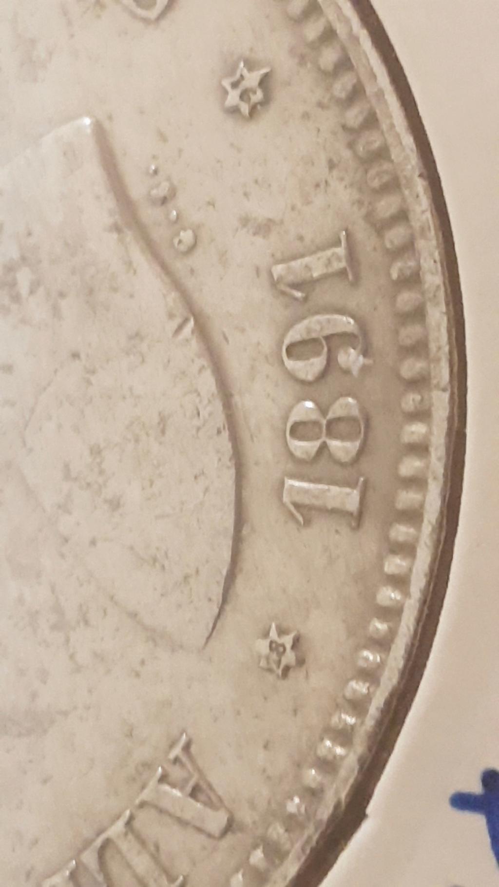 5 pesetas Alfonso XIII 1891 *18-*91 PGM 2020-922