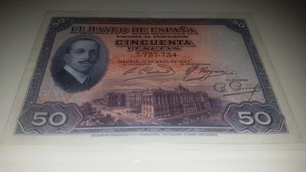50 pesetas Alfonso XIII 1927 20200930