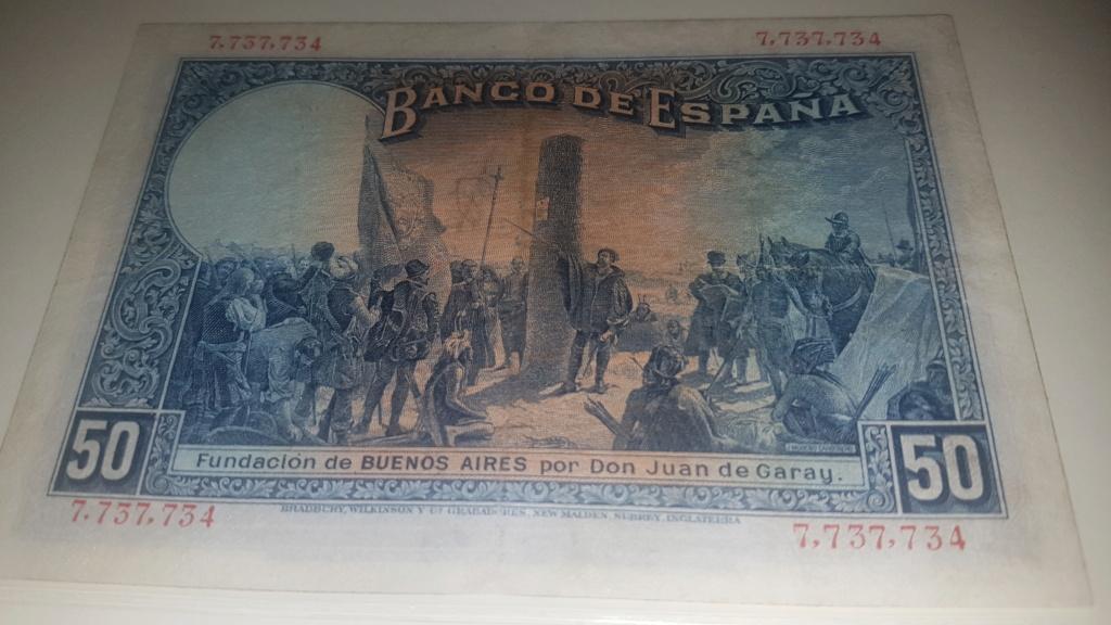 50 pesetas Alfonso XIII 1927 20200931