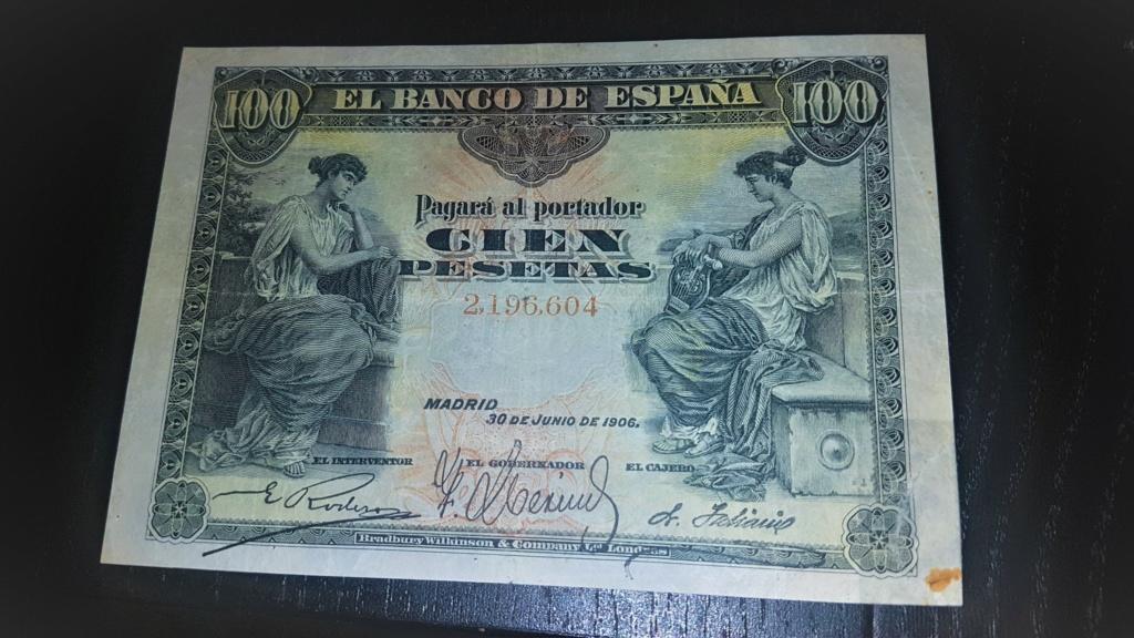 100 pesetas Alegorías 1906 20200932