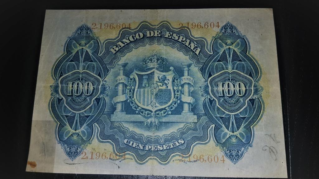 100 pesetas Alegorías 1906 20200933