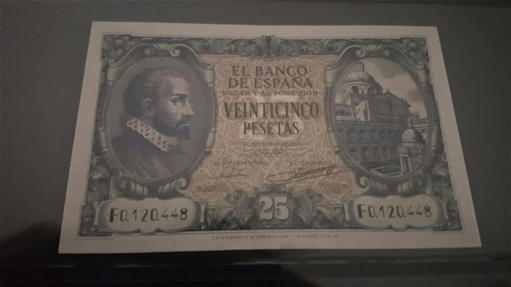 25 pesetas Estado Español 1940 20200936