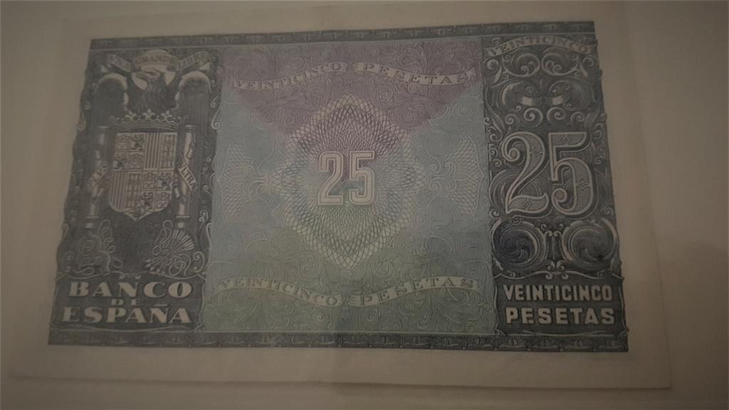 25 pesetas Estado Español 1940 20200937