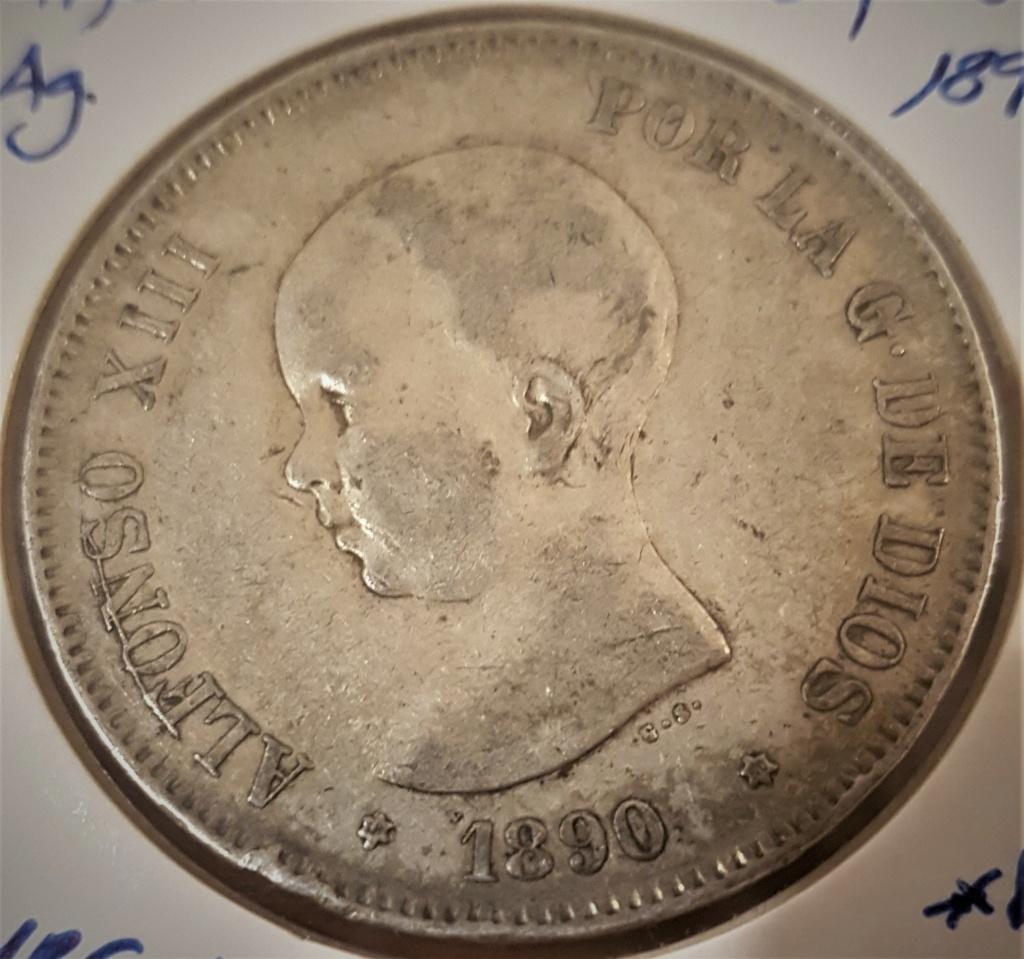 5 pesetas Alfonso XIII 1890 *18-90 PGM 20200940