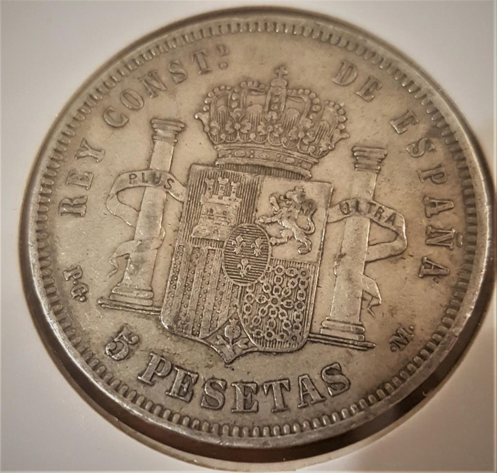 5 pesetas Alfonso XIII 1890 *18-90 PGM 20200941