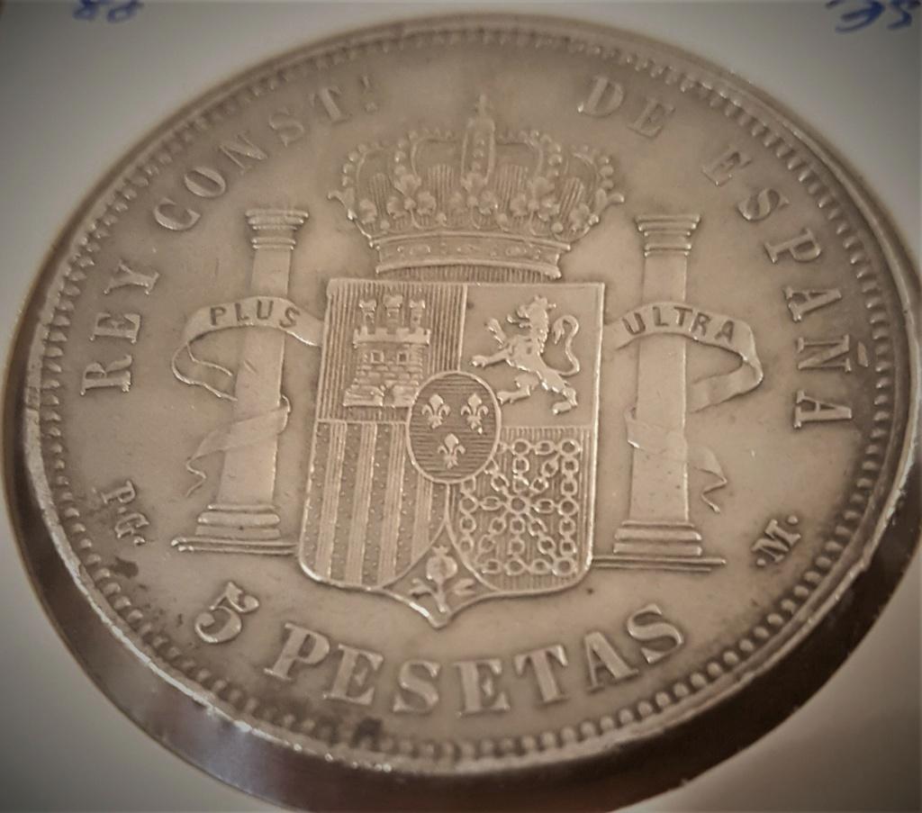 5 pesetas Alfonso XIII 1891 *18-*91 PGM 20200942