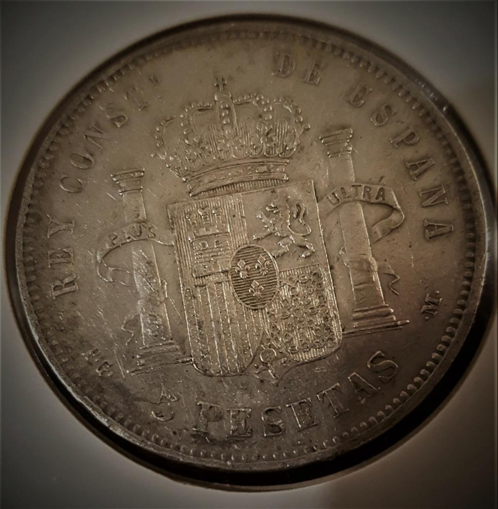 5 pesetas Alfonso XIII 1892 *18-*92 PGM 20200945