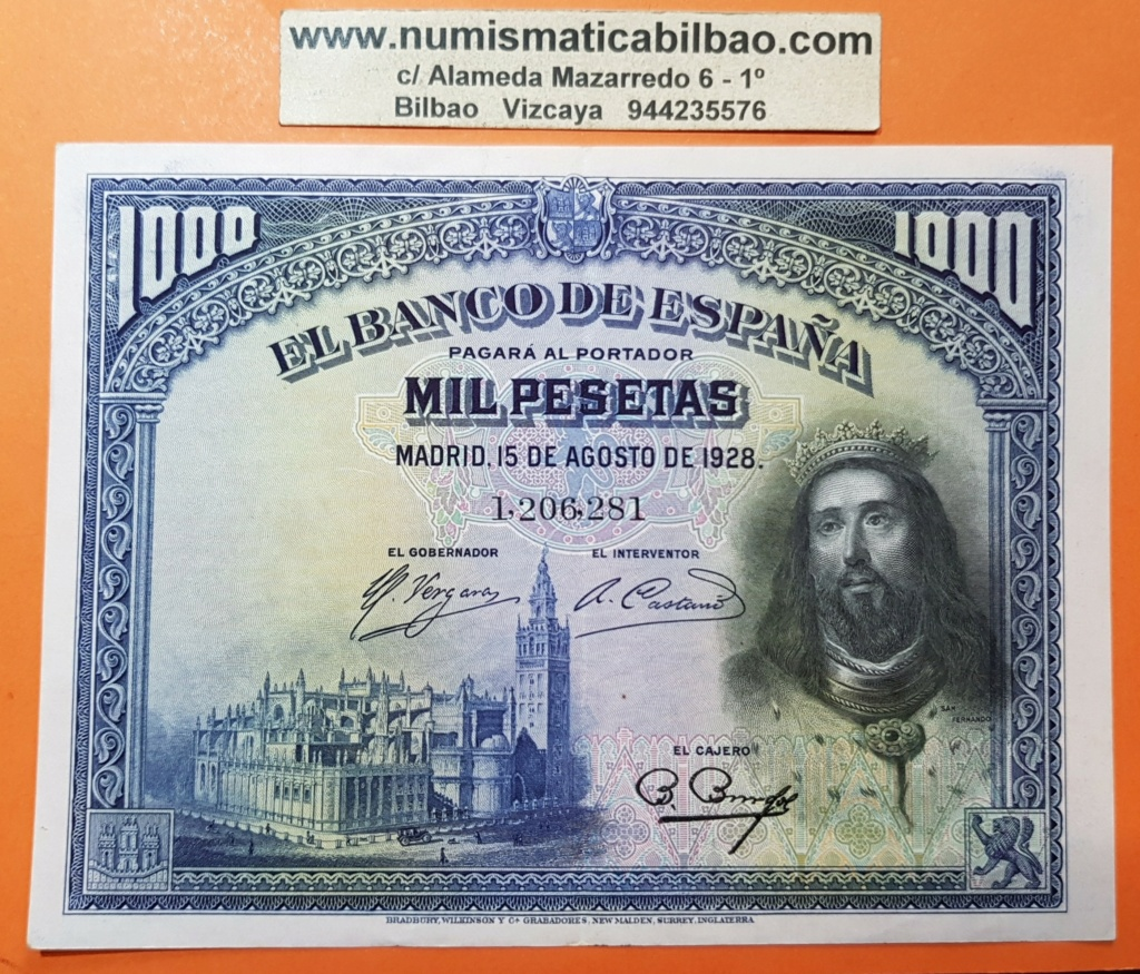 500 Pesetas 1931 Espana10