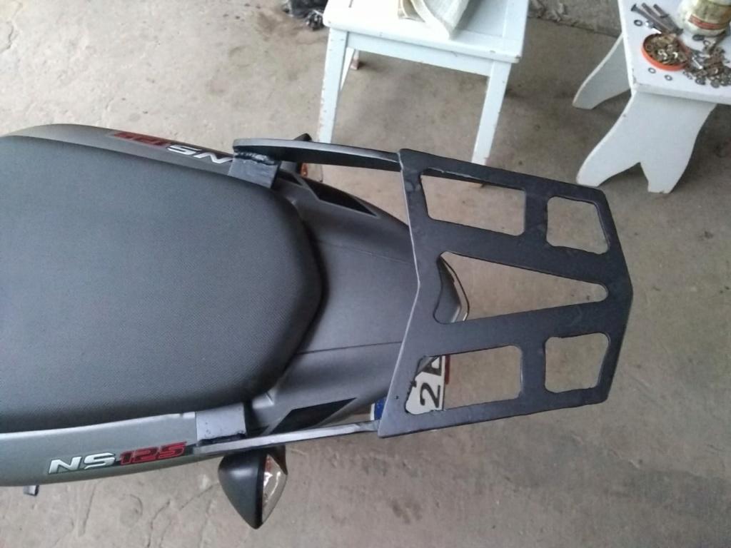 Porta equipajes casero ROUSER NS 125 Whatsa16