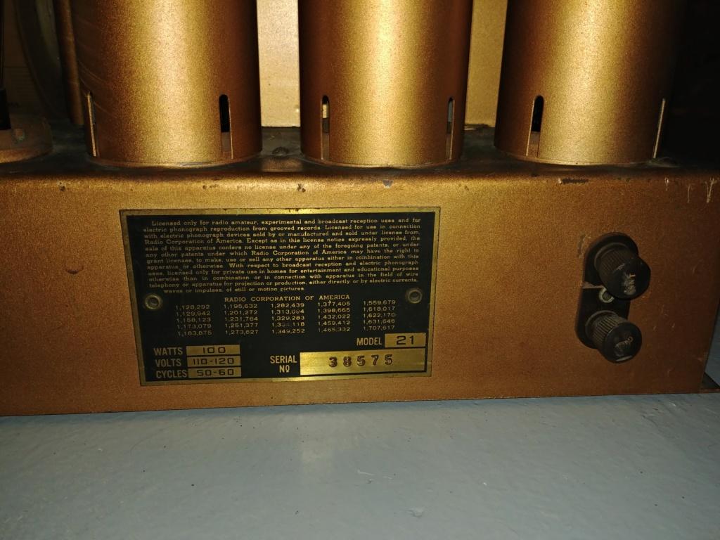 RCA Model 21 20201111