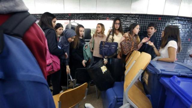 20 Enero de 2016 Altercados en la Universidad de Barcelona 15089210
