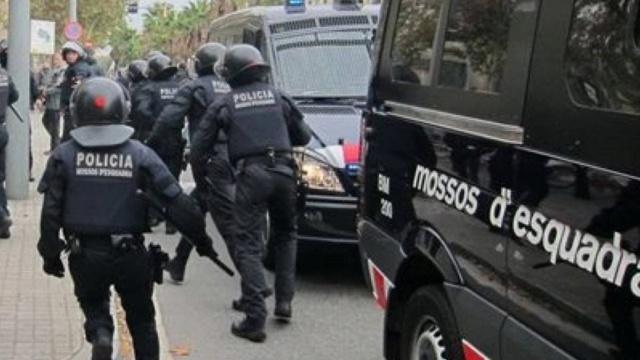 20 Enero de 2016 Altercados en la Universidad de Barcelona Batall10
