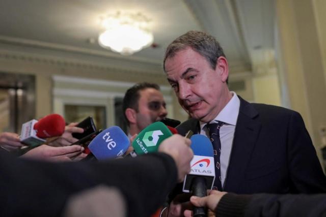 """[Expresidentes] Zapatero: """"Un político tiene talante si prioriza el bienestar del país a sus intereses, Sánchez ha dado una lección"""" Fotono10"""