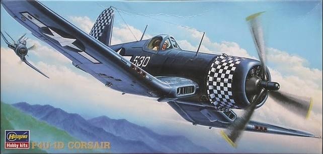 [Hasegawa]   Corsair F4U-1D Vought10