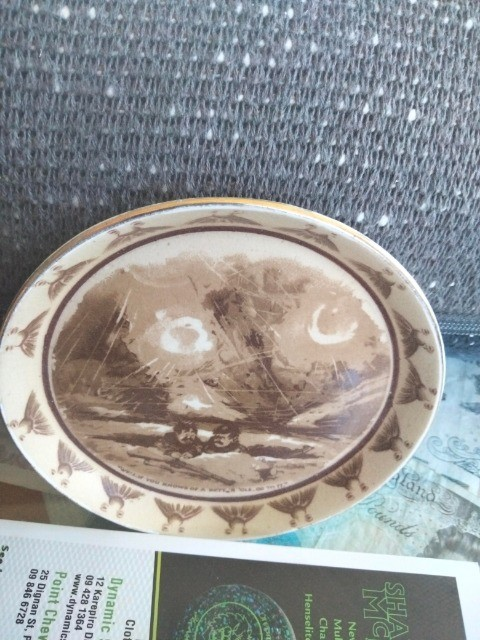 ID this plate.  This plate was made in England. 111