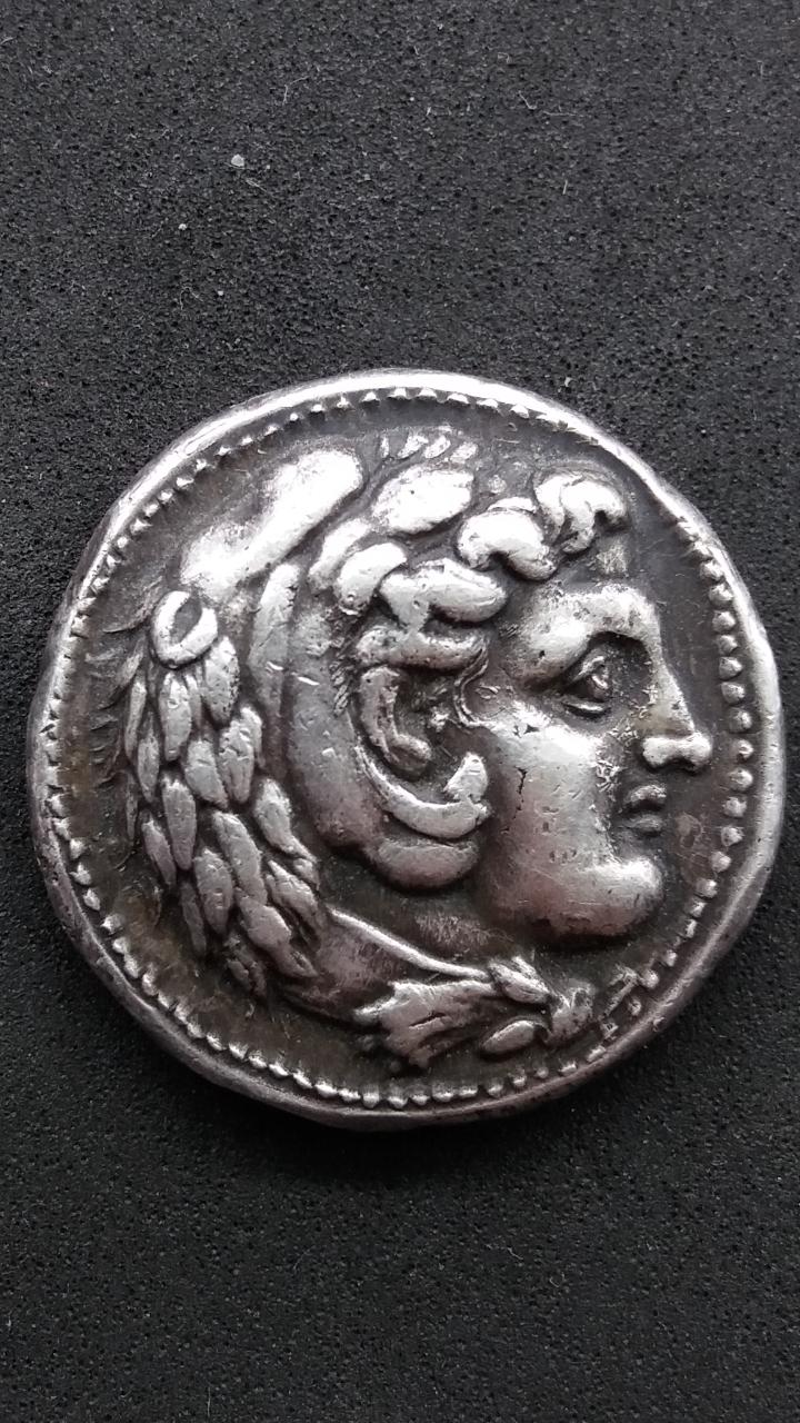 Tetradracma de Alejandro III Magno. Anfípolis. Falsificación Screen10