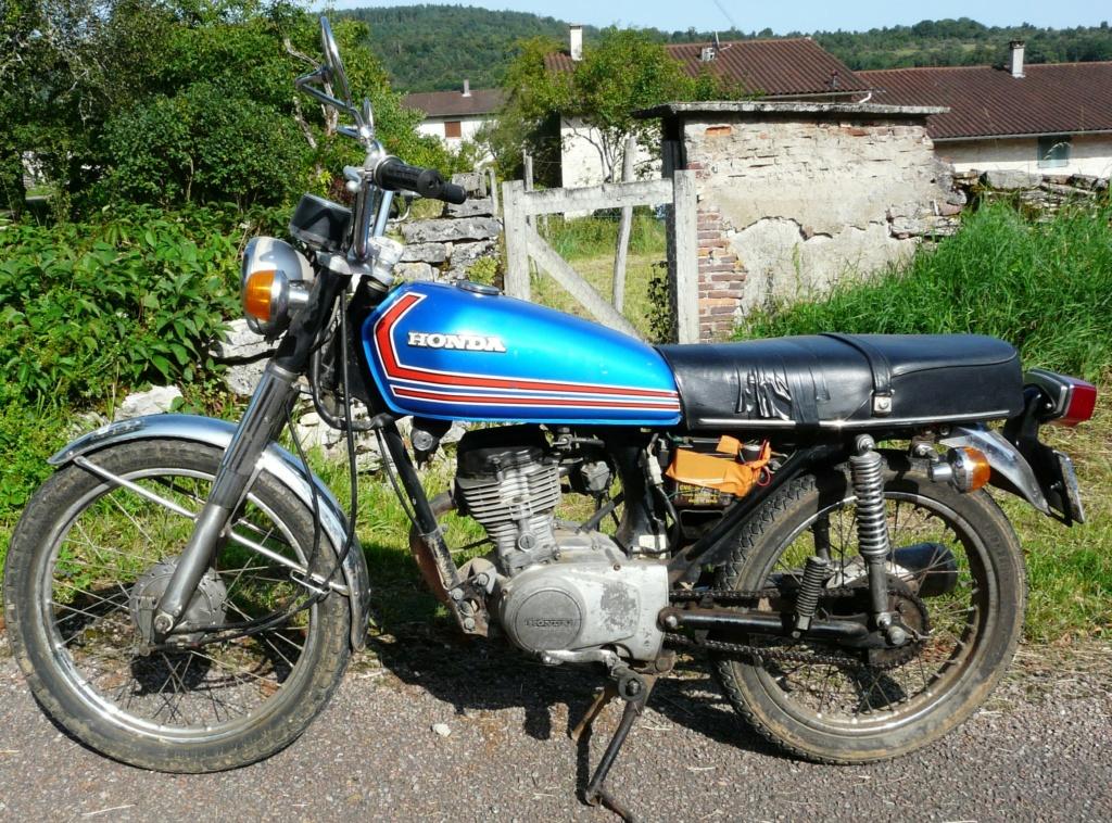 Honda CG125 - 1977 N'est plus à vendre !. P1050811