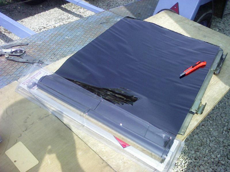 Comment Teinter des vitres ar sur une bx Photo925