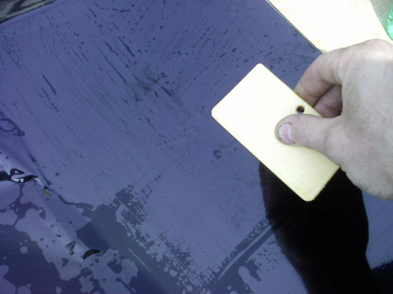 Comment Teinter des vitres ar sur une bx Photo929