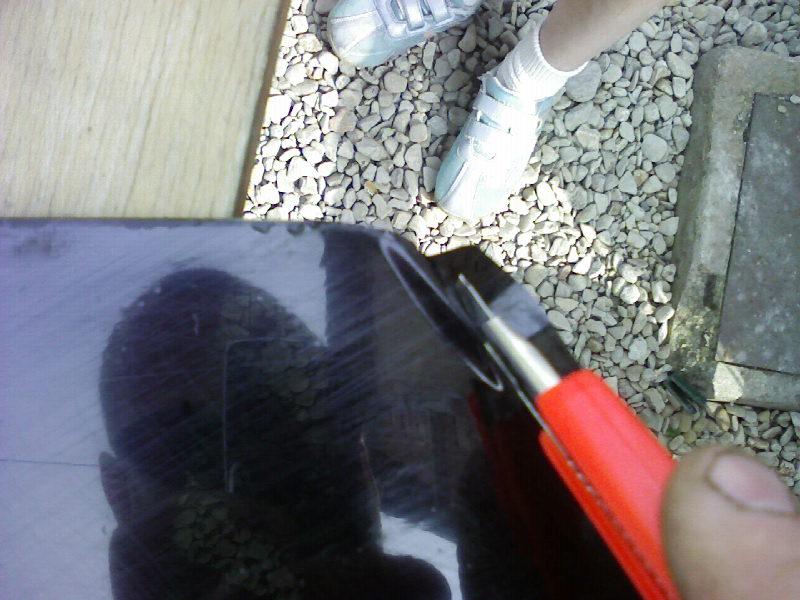 Comment Teinter des vitres ar sur une bx Photo936