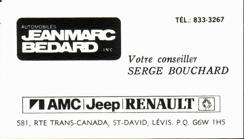 Les anciens dealers AMC du Québec Jean-m10
